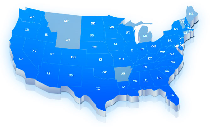 States in which we've worked